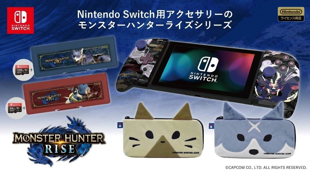 Hori Monster Hunter Rise Accessories