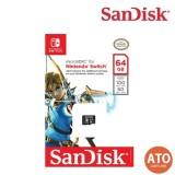 Sandisk microSDXC Cards For Nintendo Switch 64GB