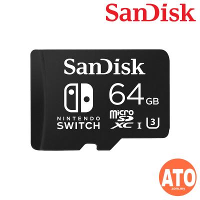 SanDisk Nintendo Licensed 64GB Memory Card For Nintendo Switch