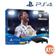 PS4 Bundle with FIFA and 2 Controllers 500GB