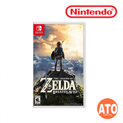 The Legend of Zelda - Breath of the Wild for Nintendo Switch (CHI/ENG)