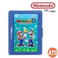 Nintendo 3DS Mario and Luigi Game Card Case 12+1