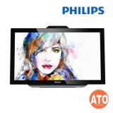 Philips 231C5TJKFU 23'' LCD Monitor (Touch Screen / VGA / DP / HDMI / MHL / Built-in Stereo Speaker)