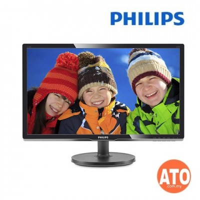 Philips 243V5QHSBA 23.6'' LCD Monitor (VGA / HDMI / DVI-D)