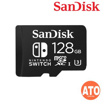 SanDisk Nintendo Licensed 128GB Memory Card For Nintendo Switch