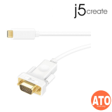 J5 JCC111 USB Type-C to VGA Cable 1.8M