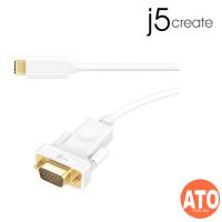 J5 JCC111 USB Type-C to VGA Cable 1.8M