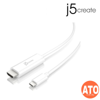 J5 JCC153 Type-C to 4K HDMI Cable 1.5M