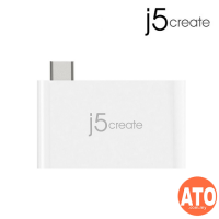 J5 JCH349 USB 3.1 Type-C to USB 3.0w PD Charging Bridge