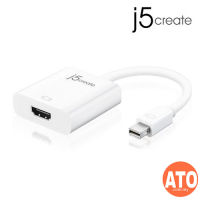 J5 JDA152 Mini DisplayPort to HDMI Adapter