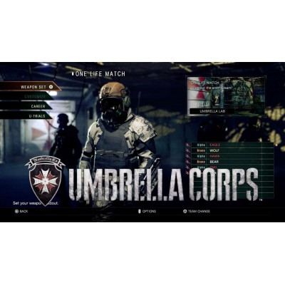 Resident Evil Umbrella Corps for PS4