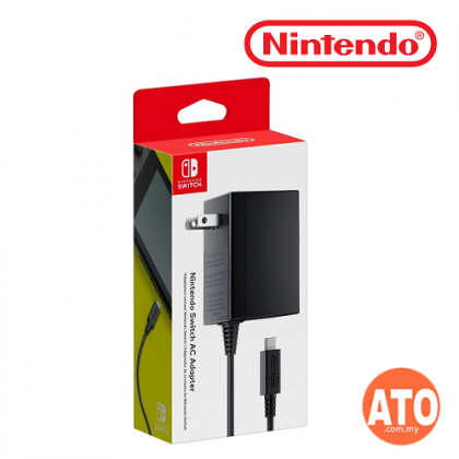 AC Adapter for Nintendo Switch (ORIGINAL) - 2 Flat Pin *1 Month Warranty*