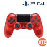 DUALSHOCK 4 Wireless Controller (Crystal Red) for PS4