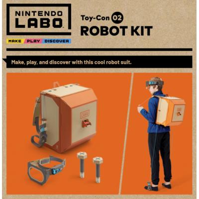 Nintendo Switch Labo Toy-con 02 Robot Kit