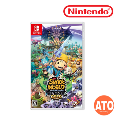 The Snack World: Trejarers Gold for Nintendo Switch JAPAN