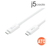 J5 JUCX01 TYPE-C TO TYPE-C COAXIAL USB 3.1 CABLE