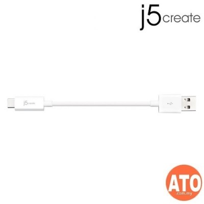 J5 JUCX08 USB 2.0 TYPE-C TO TYPE-A CABLE