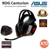ASUS ROG Centurion true 7.1 gaming headset with 10 discrete drivers, digital microphone, Hi-Fi-grade headphone amplifier, and USB audio station