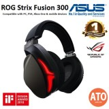 Asus ROG Strix Fusion 300 7.1 gaming headset delivers immersive gaming audio and is compatible with PC/PS4/Xbox One and mobile devices