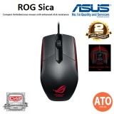 Asus ROG SICA Compact ambidextrous gaming mouse with enhanced click resistance