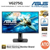 ASUS VG275Q Console Gaming Monitor - 27inch, Full HD, 1ms, GameFast Input Technology, FreeSyn