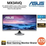 "ASUS MX34VQ 34"" Eye Care Monitor (1920*1080)"