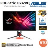 ASUS ROG Strix XG32VQ Curved Gaming Monitor – 32 inch WQHD (2560x1440), 144Hz, Aura Sync, Adaptive-Sync(FreeSync™),125% sRGB color space