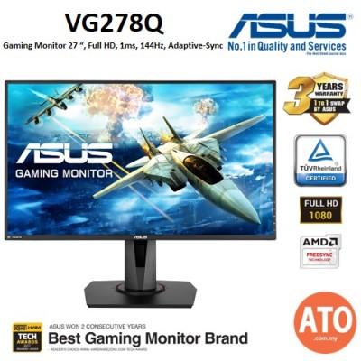 ASUS VG278Q Gaming Monitor - 27inch,  Full HD, 1ms, 144Hz, Adaptive-Sync