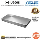 ASUS (XG-U2008) 10-Port Unmanaged Switch Featuring Two 10G Ports