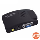 VGA Conversion High Resolution Video Adapter TV to PC Converter