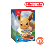 **PRE-ORDER** Pokémon: Let's Go, Eevee! Bundle with Pokeball Plus (Deposit ONLY)