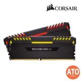 CORSAIR VENGEANCE RGB 16GB (2 x 8GB) DDR4 DRAM 3200MHz C16 Memory Kit