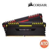 CORSAIR VENGEANCE RGB 16GB (2 x 8GB) DDR4 DRAM 3200MHz C16 Memory Kit for AMD RYZEN