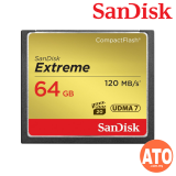 SanDisk Extreme CompactFlash 64GB Memory Card