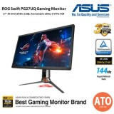 "ASUS ROG Swift PG27UQ Gaming Monitor 27"" 4K (3840 x 2160), Overcloable 144Hz/G-Sync HDr / Quantum-dot / ips  /Aura Sync"