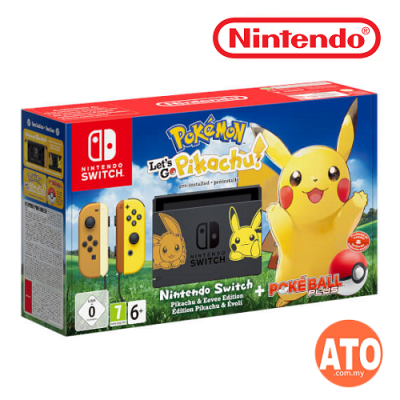 Nintendo Switch Console Pokémon: Let's Go Bundle Limited Edition (EU Version)