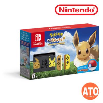 Nintendo Switch Console Pokémon: Let's Go Bundle Limited Edition