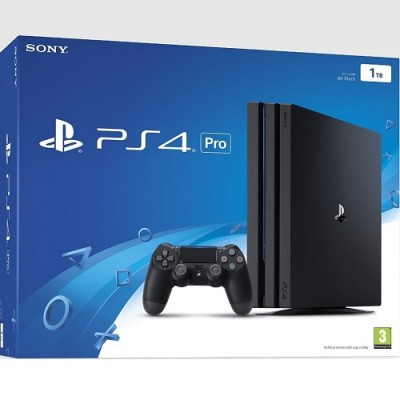 Playstation 4 PS4 Pro 1TB (1-year Warranty) ONLY 1 controller