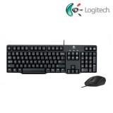 Logitech MK100 Wired Classic Desktop (Keyboard + Mouse)