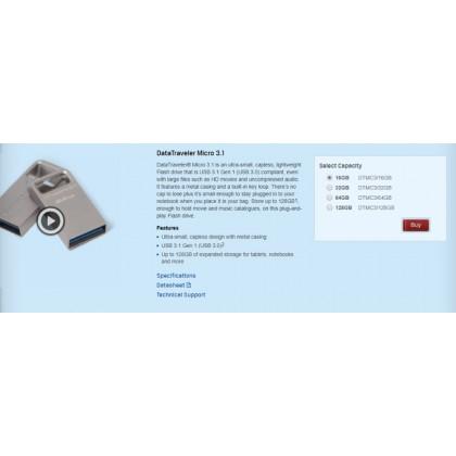 KINGSTON DT MICRO 3.1 USB3.0 (64GB)