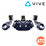 HTC Vive Pro FREE 4 Games: Skyfront, theBlu, Super Hot, Arizona Sunshine + VIVE Exclusive T-Shirt (1-years Malaysia Warranty)
