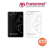 "TRANSCEND STOREJET® 25A3 2.5"" USB 3.0 / 3.1 Portable Hard Drive 1TB"