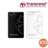 "TRANSCEND STOREJET® 25A3 2.5"" USB 3.0 / 3.1 Portable Hard Drive 2TB"