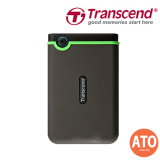 "Transcend StoreJet® 25MC 2.5"" USB Type-C Portable Hard Drive 2TB"