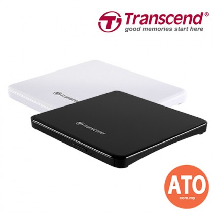 Transcend 8XDVDS Extra Slim Portable CD/DVD Writer