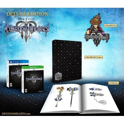 Kingdom Heart III for PS4 R3 Deluxe Edition