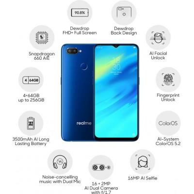 Realme 2 Pro (8GB + 128GB) 1 Year Malaysia Warranty