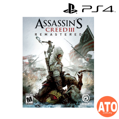 Assassin Creed III Remastered for PS4 (ASIA)