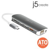 J5 CREATE JCD383 USB Type-C Multi Adapter