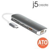 J5 CREATE JCD384 USB Type-C Multi Adapter